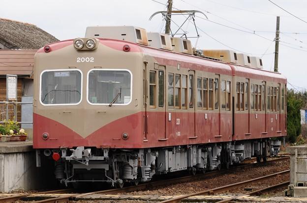 銚子電鉄 2002+2502号(検査出場)
