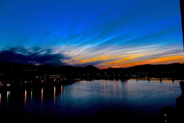 写真: 三隈川