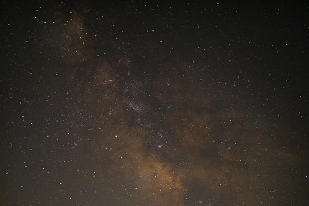 写真: 峰山高原 星空