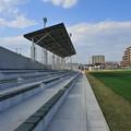 Photos: 新装なったラグビー練習場