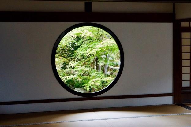 源光庵 悟りの窓