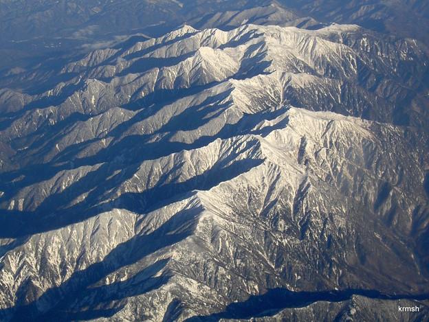 冬の南アルプス