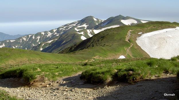 北股岳方面縦走路