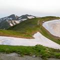 Photos: 北股岳方面の山並み