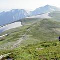Photos: 尾西岳方面へ向かう