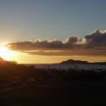マウナルア湾に沈む夕日