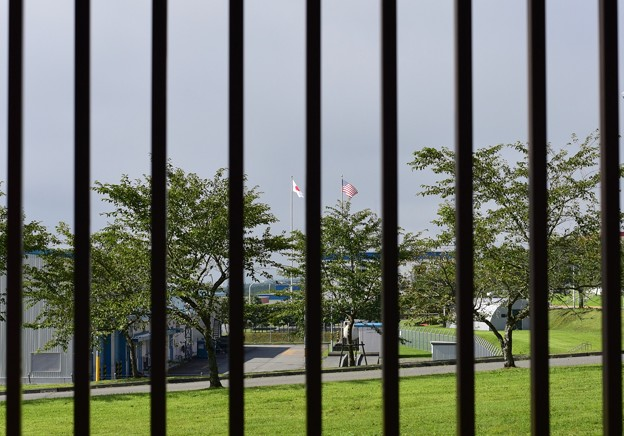 フェンスの向こうはアメリカ