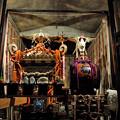 写真: 神輿と山車 14092018