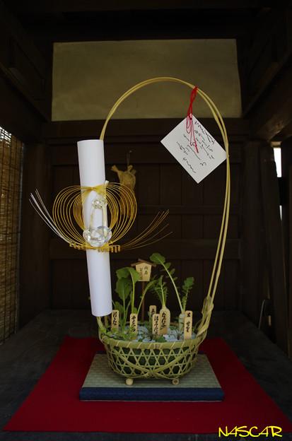 七草籠 04012019
