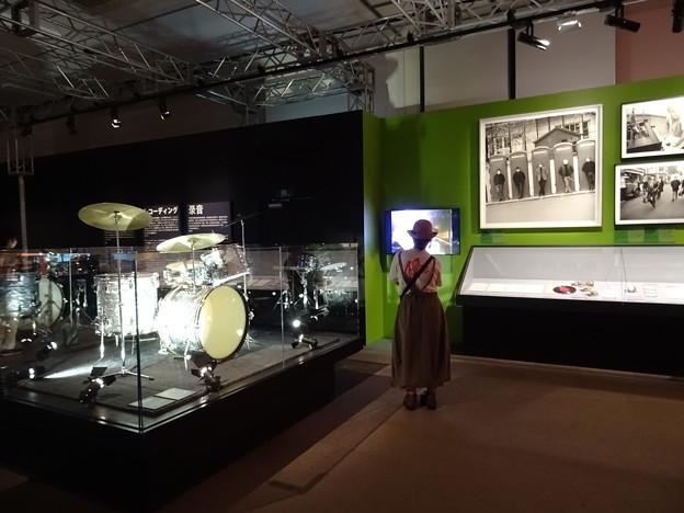Drum Set @Exhibitionism-ザ・ローリング・ストーンズ展 28052019