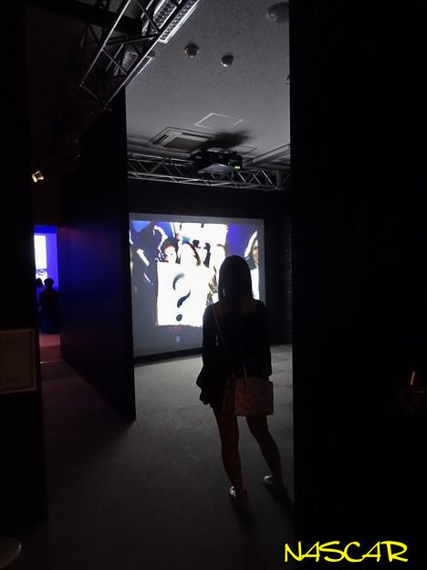 Silhouette @Exhibitionism-ザ・ローリング・ストーンズ展 28052019