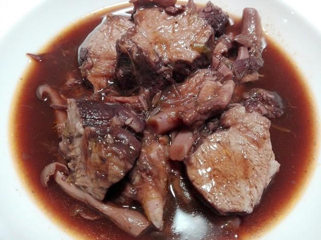 豚ヒレ肉のワイン煮