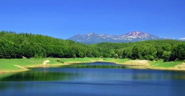 Photos: 小さな貯水池