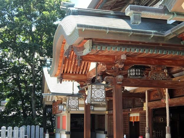 椿神社12 見事な形状「産す」造り