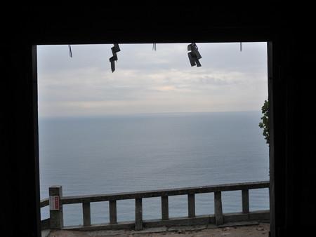 久能山東照宮73 駿河湾を見渡せる天然の要害