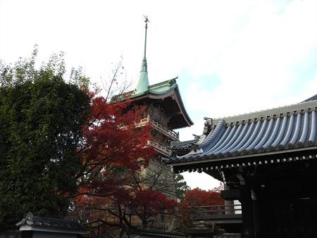 大雲院と祇園閣