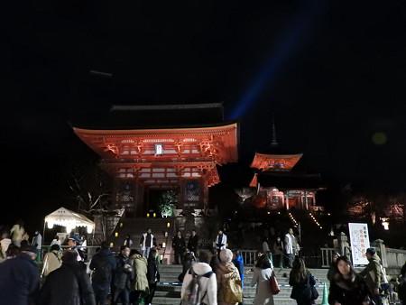 清水寺(夜)01 仁王門