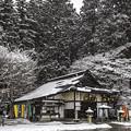 写真: 雪景