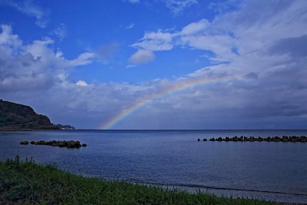 久しぶりの虹