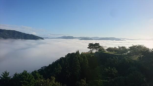 写真: 初雲海