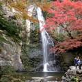 紅葉の大滝
