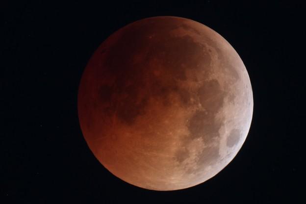 7月28日皆既月食 4時31分
