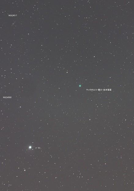マックホルツ・藤川・岩本彗星