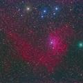 Photos: 勾玉星雲と岩本彗星