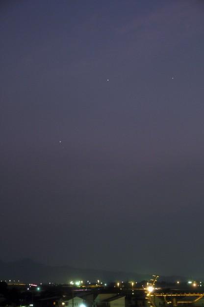 2019-6-19水星と火星の接近