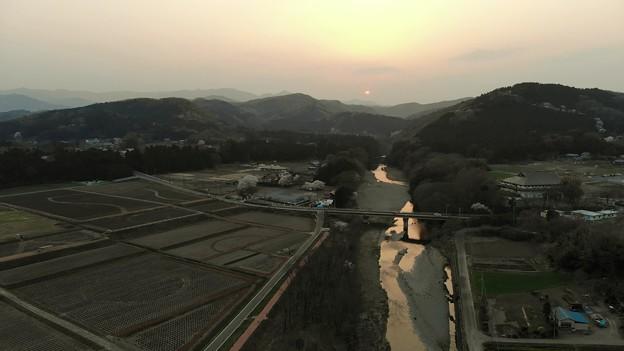 Photos: 山の夕暮れ