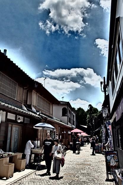 Photos: 抜ける空