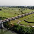 Photos: グリーンを横切る線路