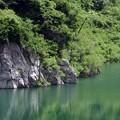 写真: ダムの向こう側