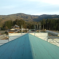 Photos: 屋根の上