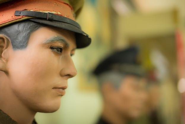 イケメンマネキン?@那須戦争博物館