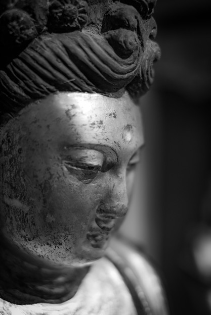 ムネリン似の仏像@小鹿野