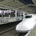 写真: 東海道新幹線/京都