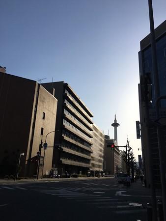 早朝の京都