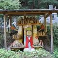 Photos: 立木観音と百体の仏