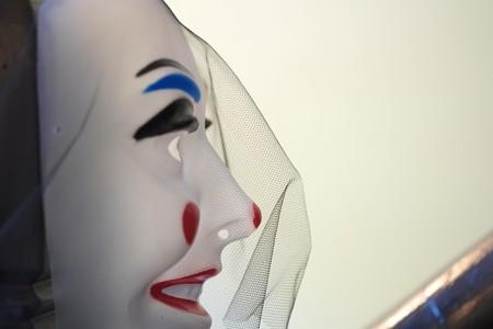 2015.10.25 ブラフ18番館 ハロウィン装飾 仮面