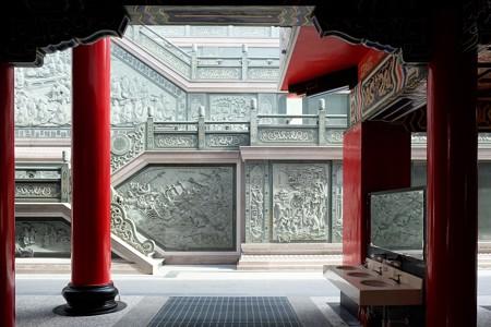 2015.11.09 台中 文武廟 壁の彫刻