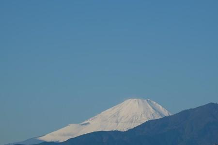 2015.11.27 駅前 富士山