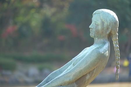 2015.12.12 大池公園 少女の像