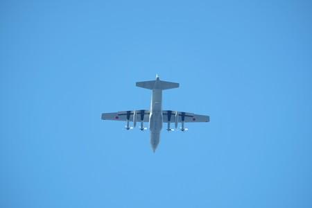 2016.01.11 和泉川 C-130 Hercules