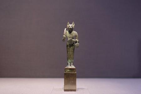 2016.02.17 東京国立博物館 バステト女神像 エジプト TJ-5840