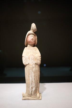 2016.02.17 東京国立博物館 加彩女子 全身 中国 TG-628