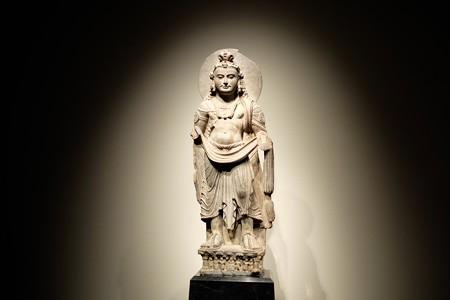 2016.02.17 東京国立博物館 菩薩立像 ガンダーラパキスタン TC-81
