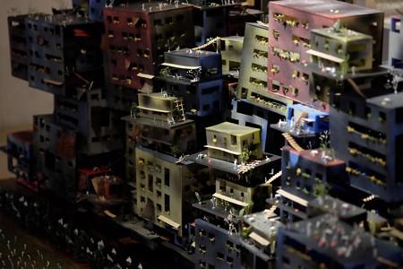 2016.03.29 赤レンガ倉庫 卒業設計展2016 街づくり模型