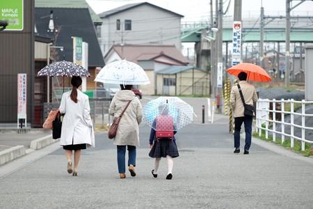 2016.04.07 新潟 姫入学式 初登校は雨