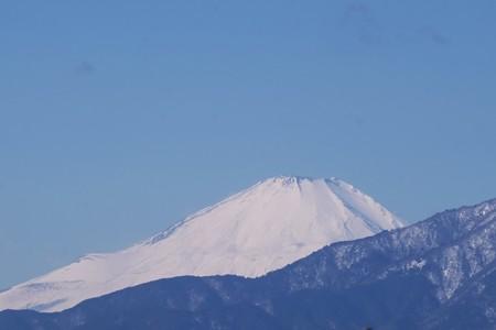 2018.01.26 駅前 富士山